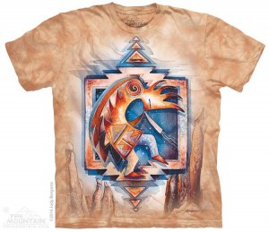 Just Keep Dancing - etniczny Kokopelli - koszulka unisex The Mountain