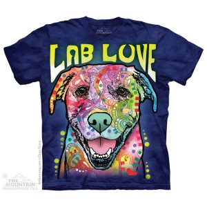 Lab Love - labrador - koszulka unisex The Mountain