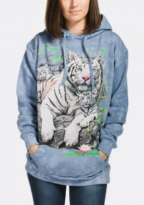 White Tigers of Bengal - tygrysy - Bluza z kapturem The Mountain