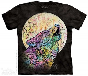 Russo Howling Wolf - koszulka unisex The Mountain