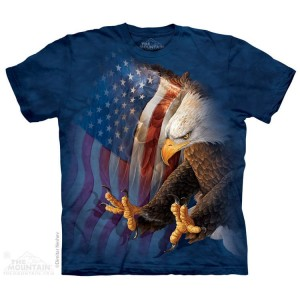 Eagle freedom - orzeł - T-shirt The Mountain