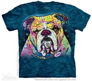 Colorful Bulldog - koszulka unisex The Mountain