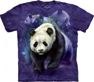 Panda Collage - panda - koszulka unisex The Mountain