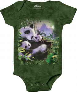 Panda Cuddle - pandy - body niemowlęce 3D The Mountain