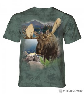 Monarch of The Forest - łoś - koszulka unisex The Mountain