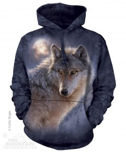 Adventure Wolf - wilk - Bluza z kapturem The Mountain