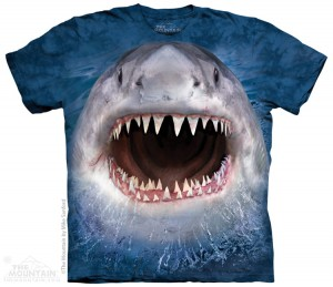Wicked Nasty Shark - rekin - koszulka unisex The Mountain