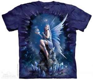 Stokes Stargaze - elf - Anne Stokes - koszulka unisex The Mountain