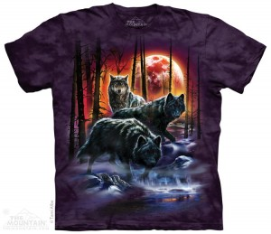 Fire And Ice Wolves - wilki - koszulka unisex The Mountain
