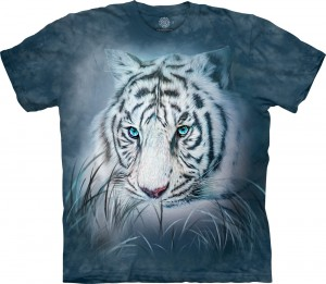 Thoughtful White Tiger - tygrysy - koszulka unisex The Mountain