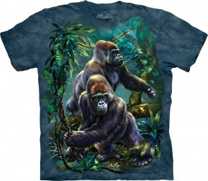 Gorilla Jungle - goryle - koszulka unisex The Mountain