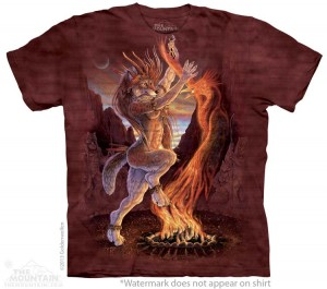 Sacred Fire - koszulka unisex The Mountain