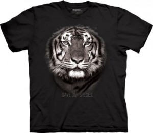 Tiger Save Our Species - tygrys - koszulka unisex The Mountain