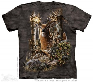 Find 9 Deer - T-shirt The Mountain