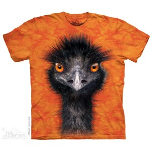 Emu - struś - koszulka unisex The Mountain Roz. S