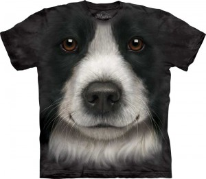 Border Collie - koszulka unisex The Mountain
