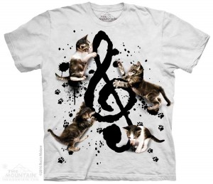 Music Kittens - koty - koszulka unisex The Mountain