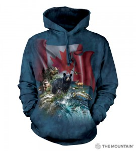 Canada The Beautiful - miś - bluza z kapturem The Mountain