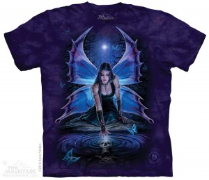 Immortal Flight - elf - Anne Stokes - koszulka unisex The Mountain