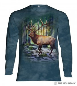 Sunlit Elk - T-shirt z długim rękawem The Mountain