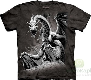 Black Dragon - koszulka unisex The Mountain (Rozmiar 5XL)