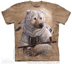 Bear Of Peace - koszulka unisex The Mountain