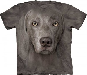 Weimaraner - koszulka unisex The Mountain 2XL