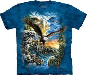 Find 11 Eagles - orły - T-shirt The Mountain