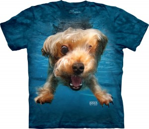 Underwater Dog Brady - pies pod wodą - koszulka unisex The Mountain