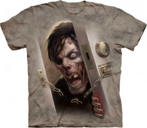 Zombie at the Door - koszulka unisex The Mountain