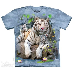 White Tigers of Bengal - koszulka unisex The Mountain