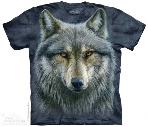 Warrior Wolf - wilk - koszulka unisex The Mountain