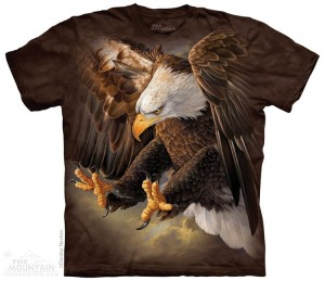 Freedom Eagle - orzeł - koszulka unisex The Mountain