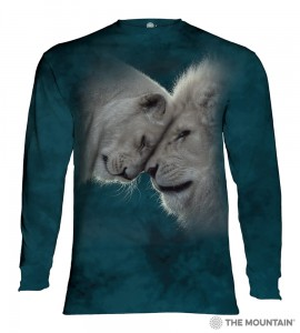 White Lions Love - lwy - T-shirt z długim rękawem The Mountain