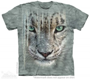 Icicle Snow Leopard - koszulka unisex The Mountain