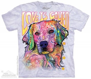 Love is Golden - koszulka unisex The Mountain