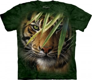 Emerald Forest - tygrys - koszulka unisex The Mountain