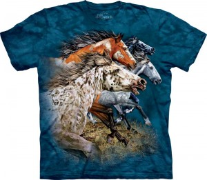 Find 13 Horses - konie - T-shirt The Mountain