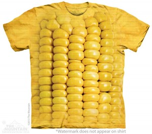 Corn on the Cob - kukurydza - T-shirt The Mountain Roz. S
