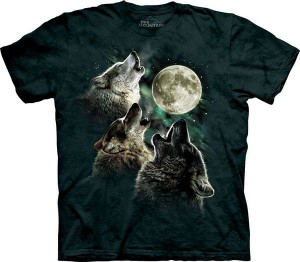 Three Wolf Moon - wilki - koszulka unisex The Mountain