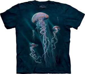 Jellyfish - meduza - koszulka unisex The Mountain