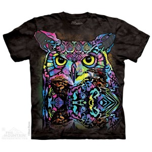 Russo Owl - sowa - koszulka unisex The Mountain