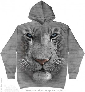 White Tiger Face - tygrys - bluza z kapturem The Mountain