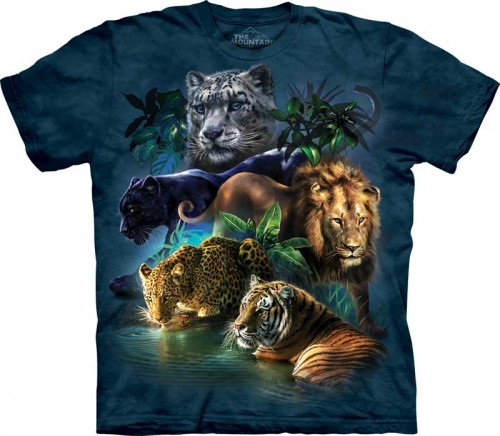 Big Cats Jungle - T-shirt The Mountain