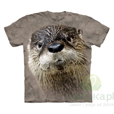 North American River Otter - Aquatic - koszulka The Mountain OL