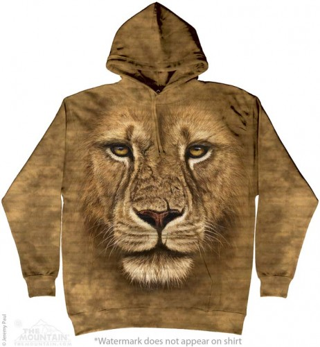 Lion Warrior - bluza z kapturem The Mountain