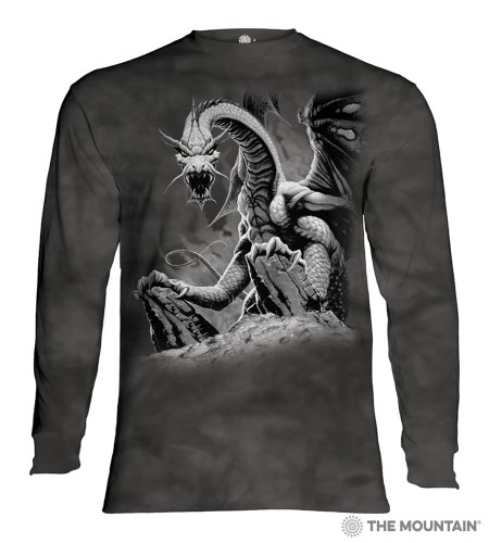 Black Dragon - T-shirt z długim rękawem The Mountain