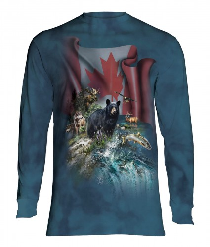 Canada The Beautiful - T-shirt z długim rękawem The Mountain