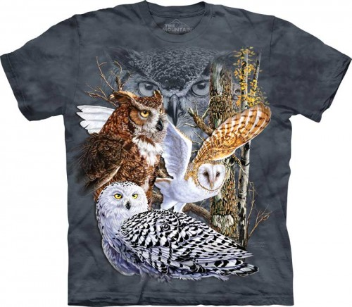 Find 11 Owls - T-shirt The Mountain z sowami