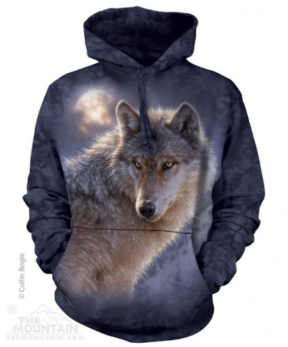 Adventure Wolf - Bluza z kapturem The Mountain